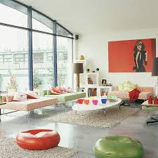 Retro Modern Living Room On Living Room Inside Best 25 Retro Rooms Ideas  Pinterest 4