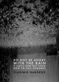Beautiful Quotes On Rain Best of Do Not Be Angry With The Rain It Simply Doesn't Know How To Fall
