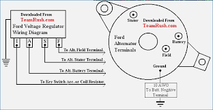 lucas voltage regulator wiring diagram neveste info Lucas Voltage RB108 Regulator Wiring Diagram ford voltage regulator wiring diagrams