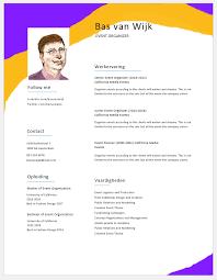 7 Gratis Cv Voorbeelden Download Templates In Word Format