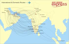 Dubai Airport Charts Express Route Map And Schedule Air India Express
