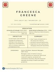 Example Of Objective In Resumes Career Objective Resume Examples For Example Your Training