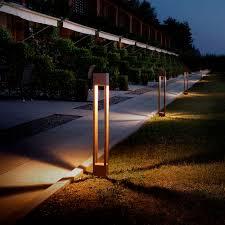 urban bollard light torch olev s r
