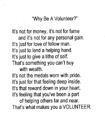 Quotes About Volunteering New Why I Volunteer Volunteer Quotes Pinterest Volunteer Quotes