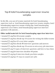 Best Housekeeper Cover Letter Examples Livecareer Hotel