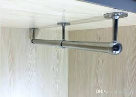 image result for hanging clothes rod from ceiling laundry in design 1 how to install closet
