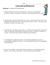 Measurement Worksheet | Have Fun Teaching