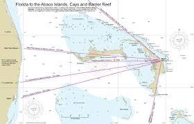Maps Charts Dive Abaco Bahamas