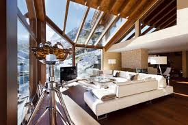 Swiss Chalet Decor Lovely Swiss Chalet Architecture With Sophisticated Interior Set