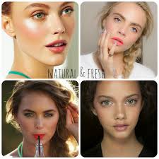 you don t want a strong makeup do you the first tip is natural fresh makeup