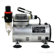 air compressor power washer attachment 3 airbrushes spray paint mini kit 110v for hobby cake