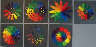 Color Wheel Design Project 6th Grade Art Project Ideas Labels 6th Painting Could