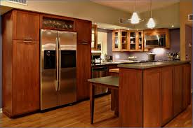 Amazing Kitchen High End Kitchens Vintage Home Interior Decor With Teak  Wooden Cabinet By Grey GraniteFresh High End Kitchen Cabinets Home And  Furniture ...