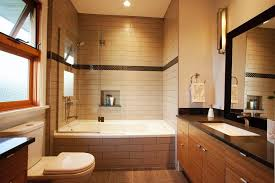 bathrooms amazing bathroom with bathtub shower combo and white toilet also modern bathroom vanity cabinet