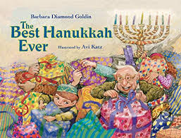 The Best Hanukkah Ever - Kindle edition by Diamond Goldin, Barbara, Katz,  Avi. Children Kindle eBooks @ Amazon.com.