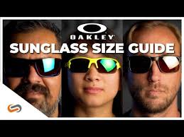 Oakley Sunglass Size Guide Sportrx Youtube