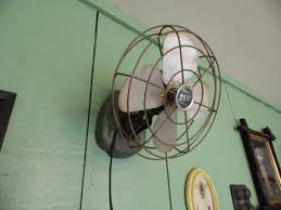 vintage outdoor oscillating fans wall mount
