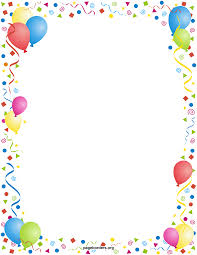 baloes png para flyers free printable balloon borders yahoo image search results