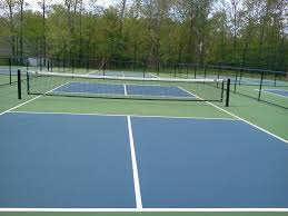 Tennis Court Design Guidelines Pickleball Court Surfaces Backyard Court Builders