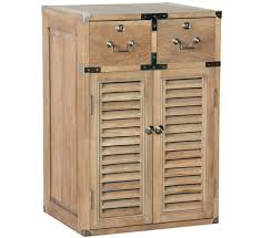 Weathered Oak Furniture Weathered Oak 2 Drawer Louvred Cabinet Made To Measure Oak Furniture