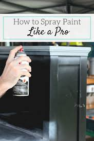 how to spray paint like a pro