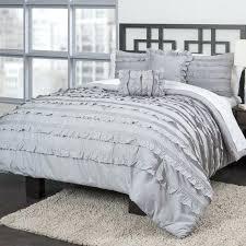 ruffle comforter twin light
