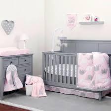 decoration teddy bear crib bedding set the dreamer collection elephant pink grey 8 piece blue