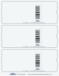Free Meal Ticket Template Best Lunch Ticket Template Free Download Editable Airline Templates Print