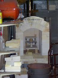 gas kiln. small gas test kiln