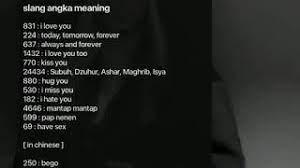 607 meaning in text merupakan sebuah angka gaul yang lagi trending di kalangan netizen dan sangat banyak di cari dengan judul 607 meaning in the text. Slang Angka Meaning Youtube
