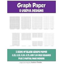 Graph Paper 8 Useful Designs Walmart Com