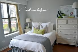 bedroom window treatments. Plain Bedroom Window Treatments For A One Bedroom  DIY Playbook And 7