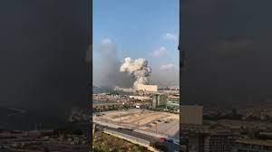 لبنان الآن انفجار قوي في لبنان - YouTube