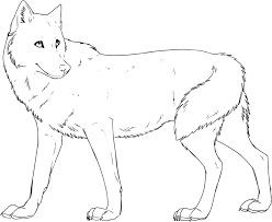 How to draw a wolf easy and step by step. Free Printable Wolf Coloring Pages For Kids