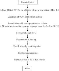 Specific Features Of Table Wine Production Technology
