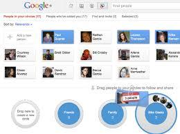 google circles editor