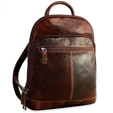 jack georges voyager leather small backpack brown backpacks all luggage luggage