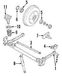 parts com® kia bush rubber partnumber 0k30a28460b 2003 kia rio base l4 1 6 liter gas rear axle