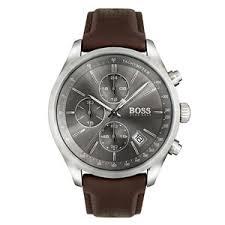 mens hugo boss watches beaverbrooks the jewellers hugo boss grand prix chronograph men s watch