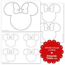 Minnie Mouse Templates Under Fontanacountryinn Com