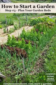 how to start a garden bed. Exellent Garden Planted Garden Bed In How To Start A Garden Bed T