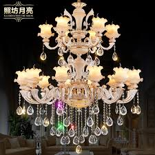 get ations european luxury villa living room chandelier crystal chandelier floor living room chandelier zinc alloy double