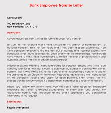 Correct Format To Write A Transfer Request Letter With Samples