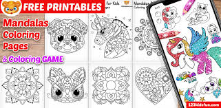 Know your kids and meet them where they are for the most rewarding to get the printable mandala template use the form below to subscribe to my kitchen table classroom newsletter. Free Printable Mandalas For Kids Coloring Pages 123 Kids Fun Apps