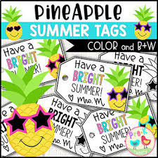 Summer Gift Tags Have A Bright Summer Gift Tags
