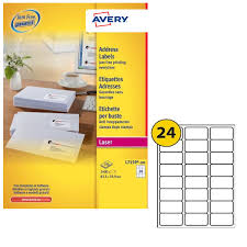 Avery Address Lables Avery Quickpeel 63 5x33 9mm Addressing Labels Pack 2400 L7159 100