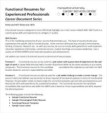 Example Of A Functional Resume For Career Change Sample Letsdeliver Co