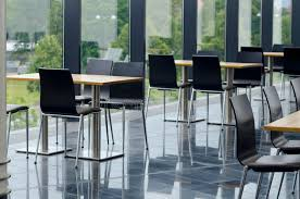 office seating area. Download Modern Office Building Cafeteria Seating Area Stock Photo - Image Of Industries, Cafeteria: R