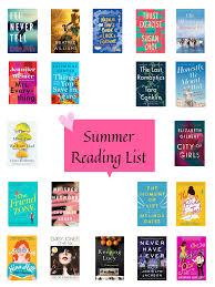 Light Hearted Summer Reads Summer 2019 Reading List My Summer 2019 Reading List