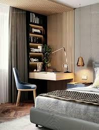 40 Modern Computer Desk For Your Home Office Modern Computer Desk Beauteous Computer Bedroom Decor Design